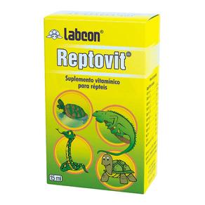 Suplemento Vitamínico Alcon Labcon Reptovit Para Répteis - 15 Ml