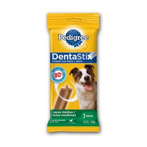 Petisco Pedigree Dentastix Cuidado Oral Para Cães Adultos Raças Médias - 7 Sticks
