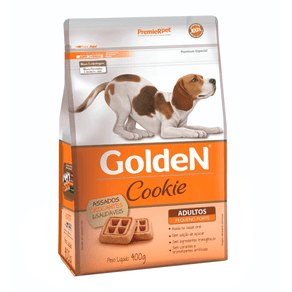 Biscoito Premier Pet Golden Cookie Para Cães Adultos Mini Bits - 400 G