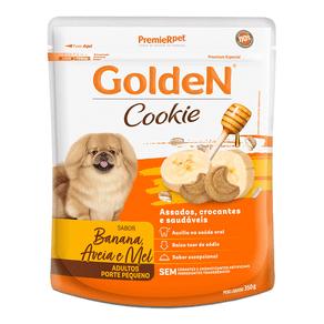 Biscoito Premier Pet Golden Cookie Banana Aveia E Mel Para Cães Adultos - 350 G
