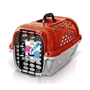 Caixa De Transporte Plast Pet Panther Pop - Vermelha - Numero 03