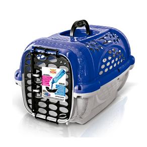 Caixa De Transporte Plast Pet Panther Pop - Azul - Numero 04