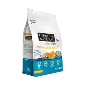 Biscoito Fórmula Natural Dog Biscuit Abóbora. Coco E Quinoa Para Cães - 250 G