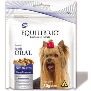 Biscoito Total Equilíbrio Snack Saude Oral Para Cães De Raças Pequenas - 80 G